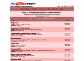 1001freelanceprojects.com