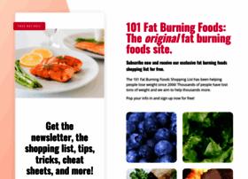 101fatburningfoods.com