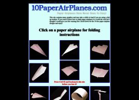 10paperairplanes.com