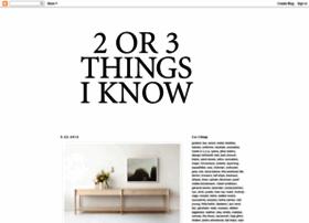 2or3things.blogspot.com