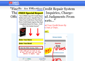 37daystocleancredit.com
