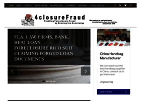 4closurefraud.org