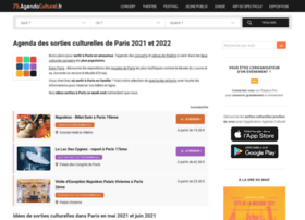 75.agendaculturel.fr