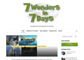 7wondersin7days.com