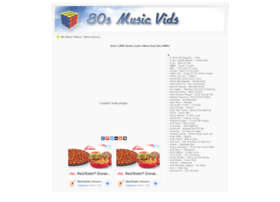 80smusicvids.com