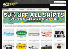 90stshirts.com