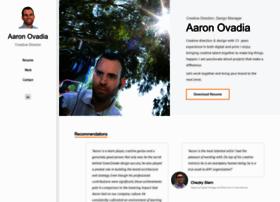 aaronovadia.com