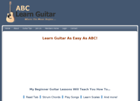 abclearnguitar.com
