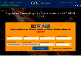abcrentacar.com.co