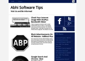 abhisoftwaretips.blogspot.com