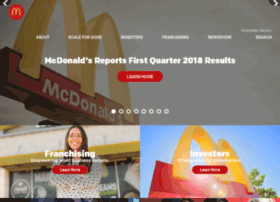 aboutmcdonalds.com