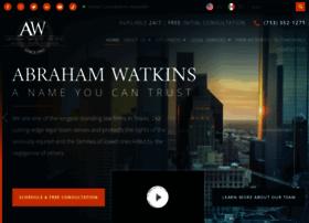 abrahamwatkins.com