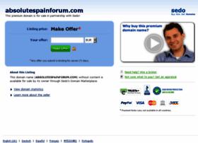 absolutespainforum.com