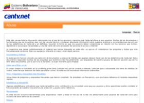 abuso.cantv.net