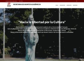 Academica.ues.edu.sv