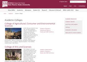 academics.nmsu.edu