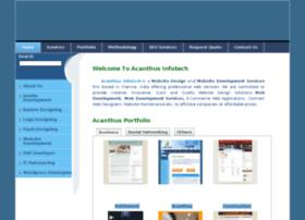Acanthusinfotech.com