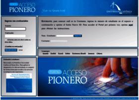 Accesopionero.pucpr.edu