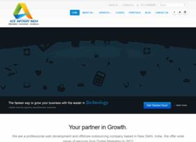aceinfowayindia.com