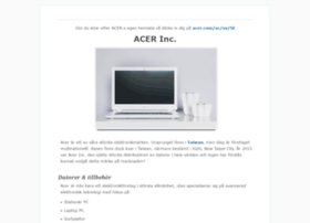 acercomputer.se