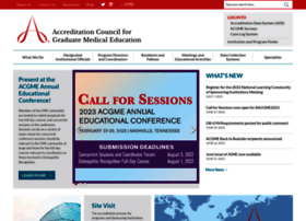 acgme.org
