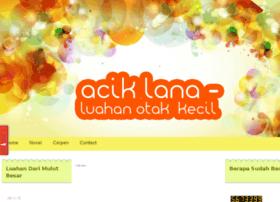 Aciklananovel.blogspot.com