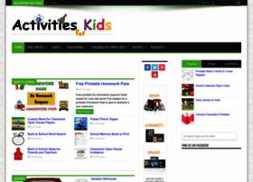 activitiesforkids.com