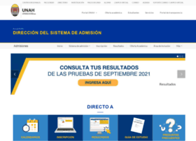 Admisiones.unah.edu.hn