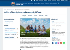Admisiones.unimagdalena.edu.co