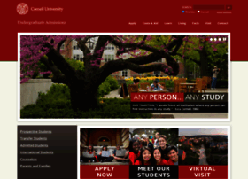 admissions.cornell.edu