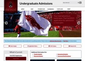 admissions.uark.edu