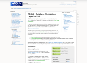 adodb.sourceforge.net
