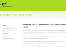 aei.listedcompany.com