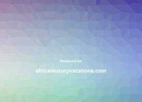 africanluxuryvacations.com
