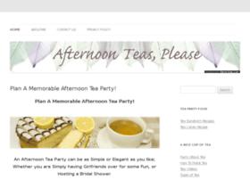 afternoon-teas-please.com