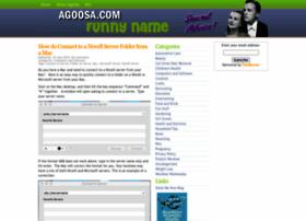agoosa.com