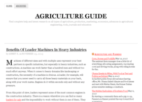 agricultureguide.org