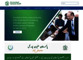 Agsindh.gov.pk