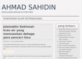 ahmadsahidin.wordpress.com