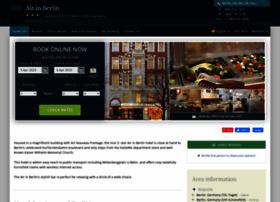 air-in-berlin.hotel-rez.com