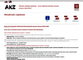 akz.pwr.wroc.pl