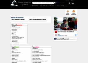 albumcancionyletra.com