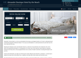 alexander-suites-tel-aviv.h-rez.com