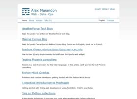 alexmarandon.com