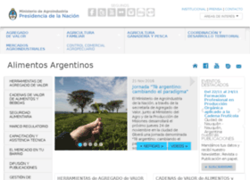 Alimentosargentinos.gov.ar