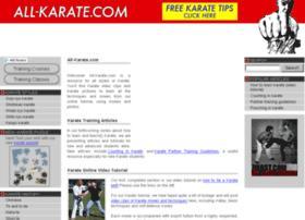 all-karate.com