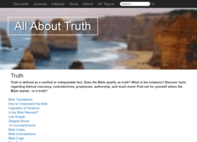 allabouttruth.org