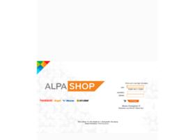 Alpashop.alpargatas.com.br