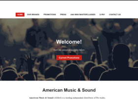 americanmusicandsound.com
