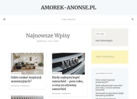 Amorek-anonse.pl